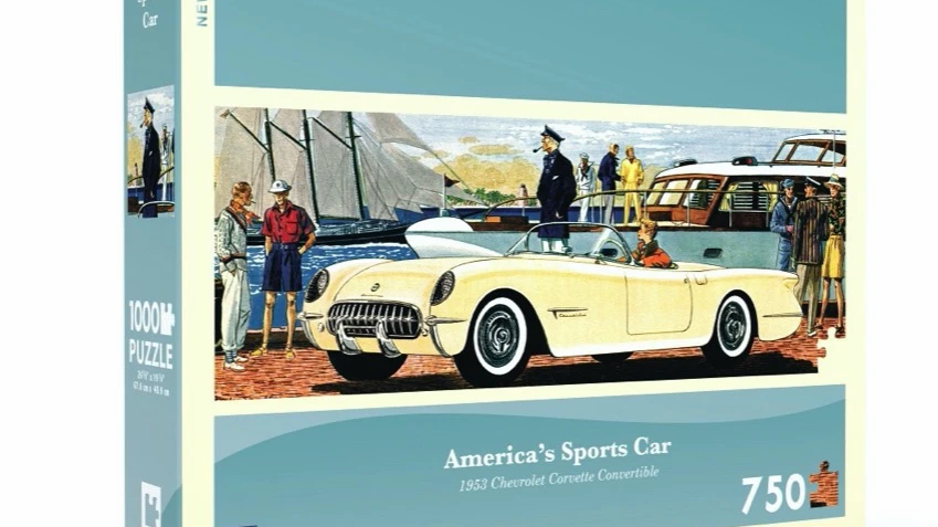 New Yorker Puzzle - Americas Sports Car (750 pieces)