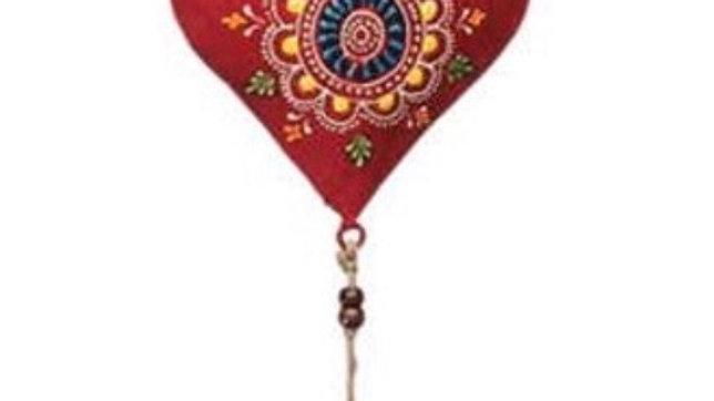 Henna heart chime
