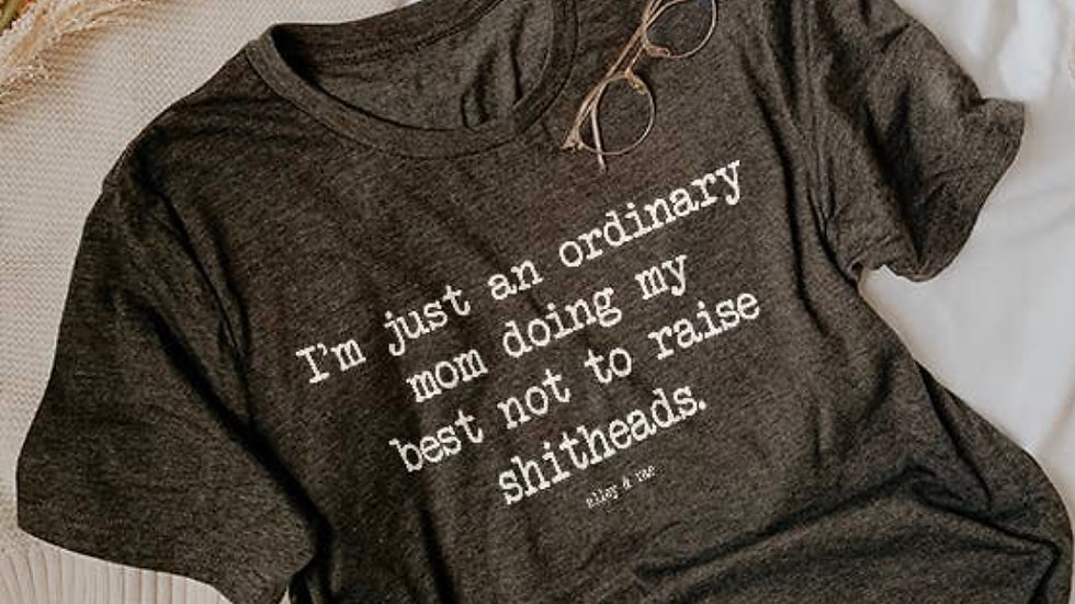 Ordinary mom t shirt
