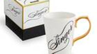 SInger mug in gift box