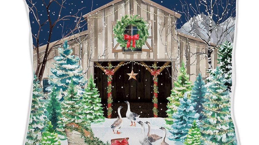 Michel Design Christmas Snow Pillow
