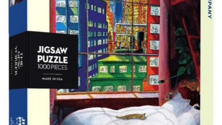 New Yorker Puzzle (1000 piece) - Cat Nap