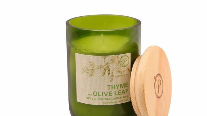 Eco Thyme & Olive Leaf Candle