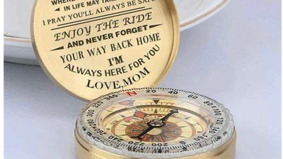 Mom to son compass