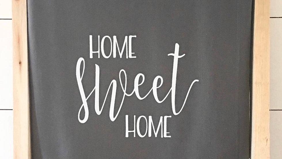 Home sweet home sweatshirt blanket