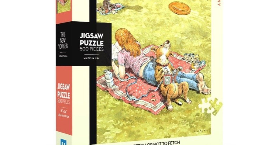 New Yorker Puzzle - Fetch or not Fetch (500 pieces)