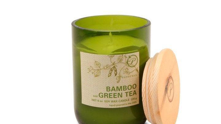 Eco Bamboo Green Tea candle