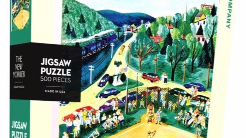 New Yorker Puzzle (500 piece) - Ballpark