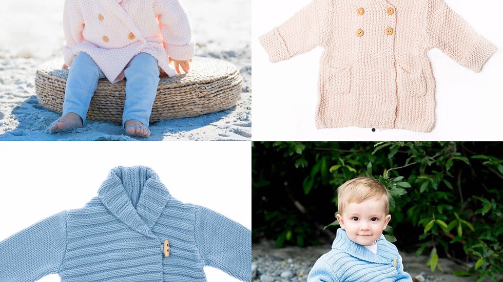 Beba bean baby knit sweater