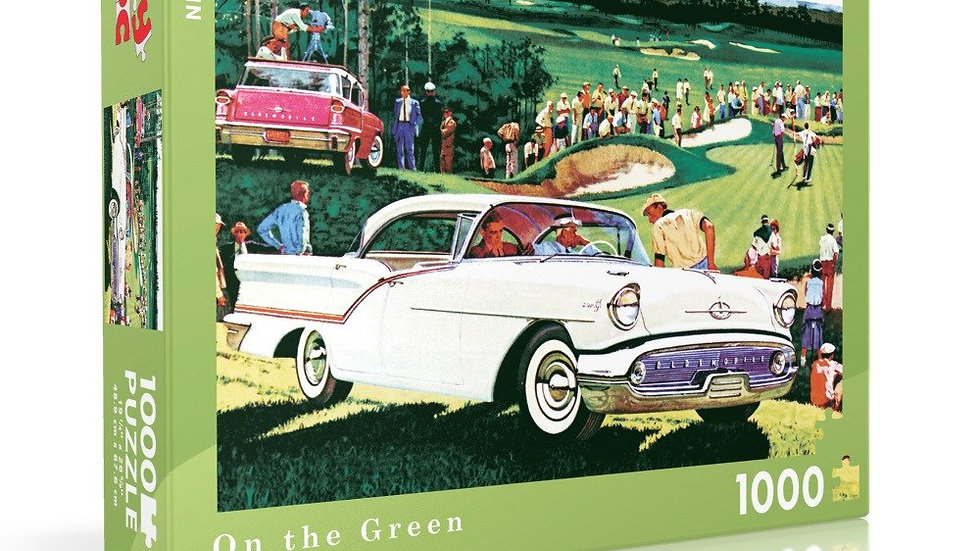 New Yorker Puzzle - On the Green (1000 pieces)