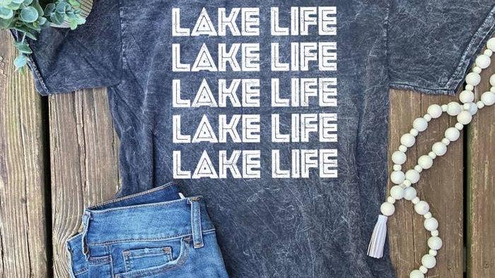 Lemon Lorraine Lake Life t-shirt