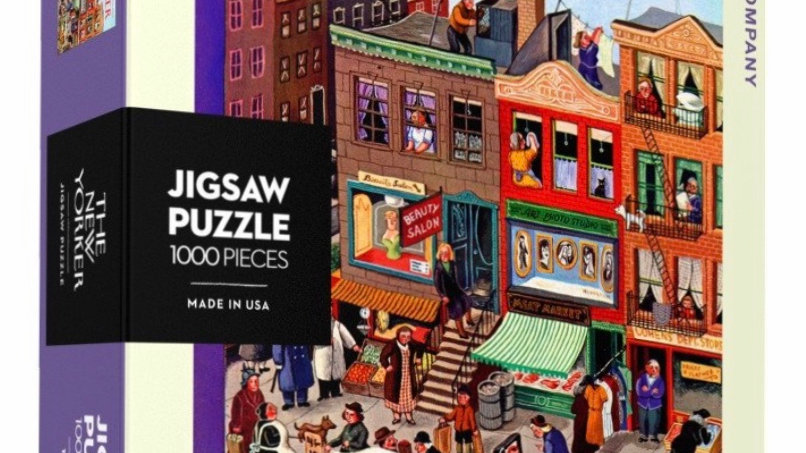New Yorker Puzzle (1000 pieces) - Main Street