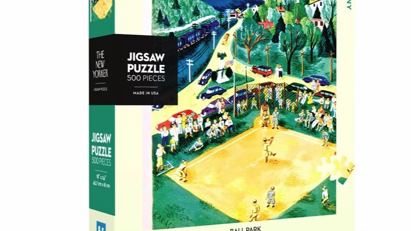 New Yorker Puzzle - Ballpark (500 pieces)