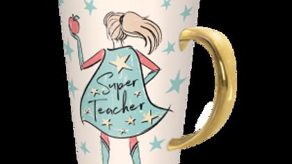 Super Teacher Travel Mug with lid