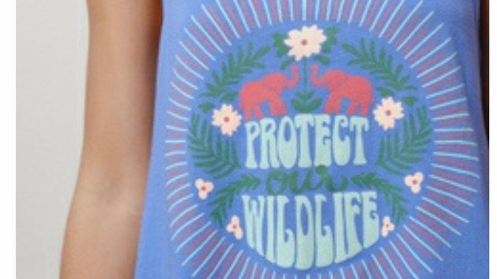 Ivory Ella Protect Wildlife tank