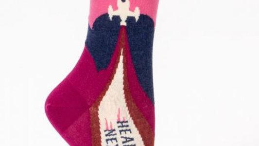 Heading to my next mistake socks