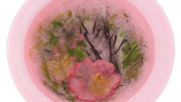 Cherry Blossom Wax Vessel