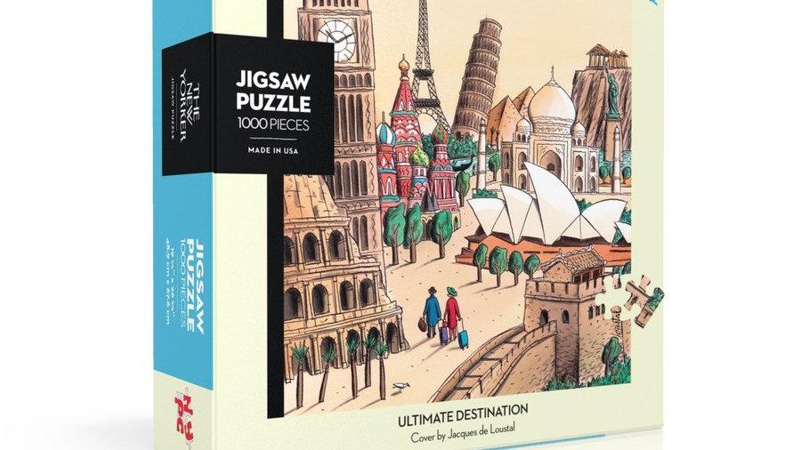 New Yorker Puzzle - Ultimate Destination (1000 pieces)