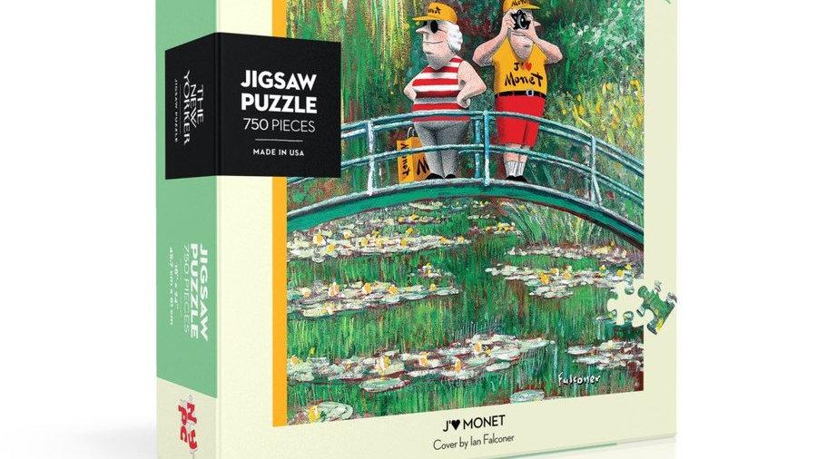 New Yorker Puzzle - J'aime Monet (750 pieces)