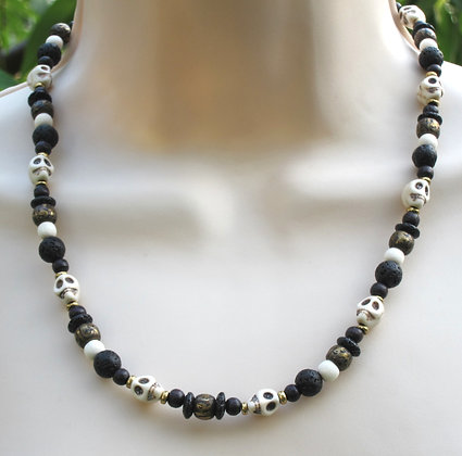 Voodoo Brass Necklace (Unisex)