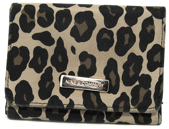 Ladies Wallet - Leopard Print by Nine & Co.