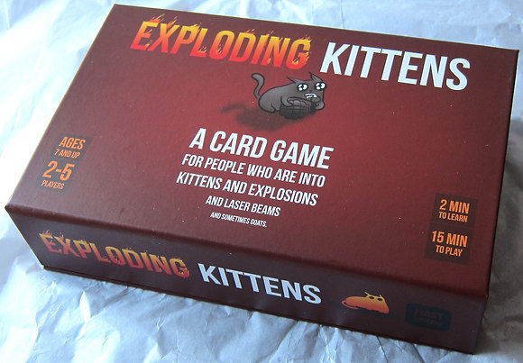Exploding Kittens Card Game + NSFW expansion
