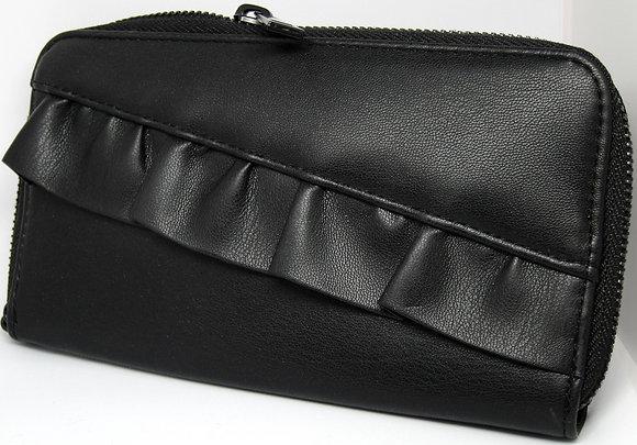 Ruffled Wallet/Handbag