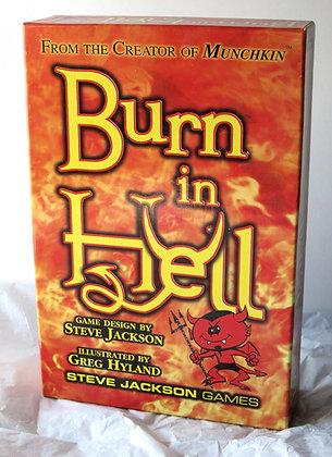 Burn In Hell Card Game by Steve Jackson