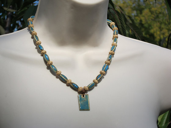 Sand and Dreams tie-back Necklace