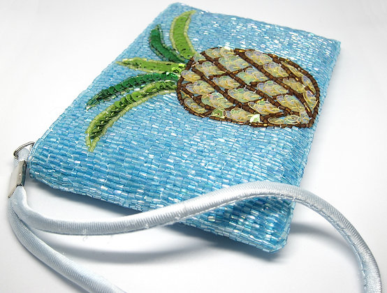 Beaded Pineapple Handbag