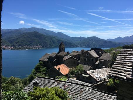 Carmine Superiore, uma vila medieval no Lago Maggiore