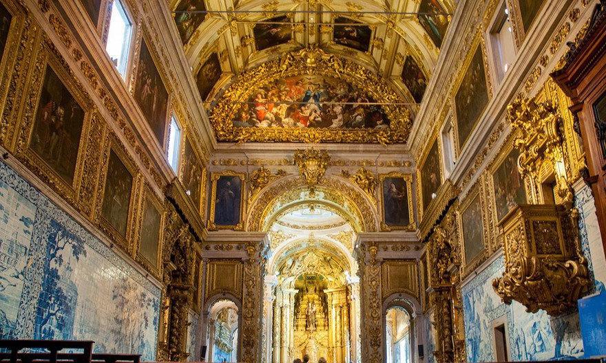 Interior Museu do Azulejo em Lisboa