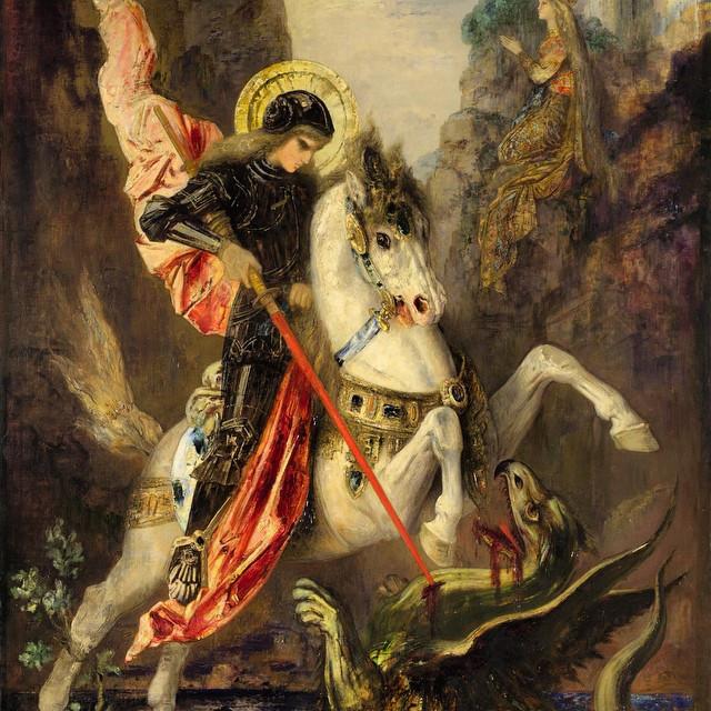São Jorge de Gustave Moreau