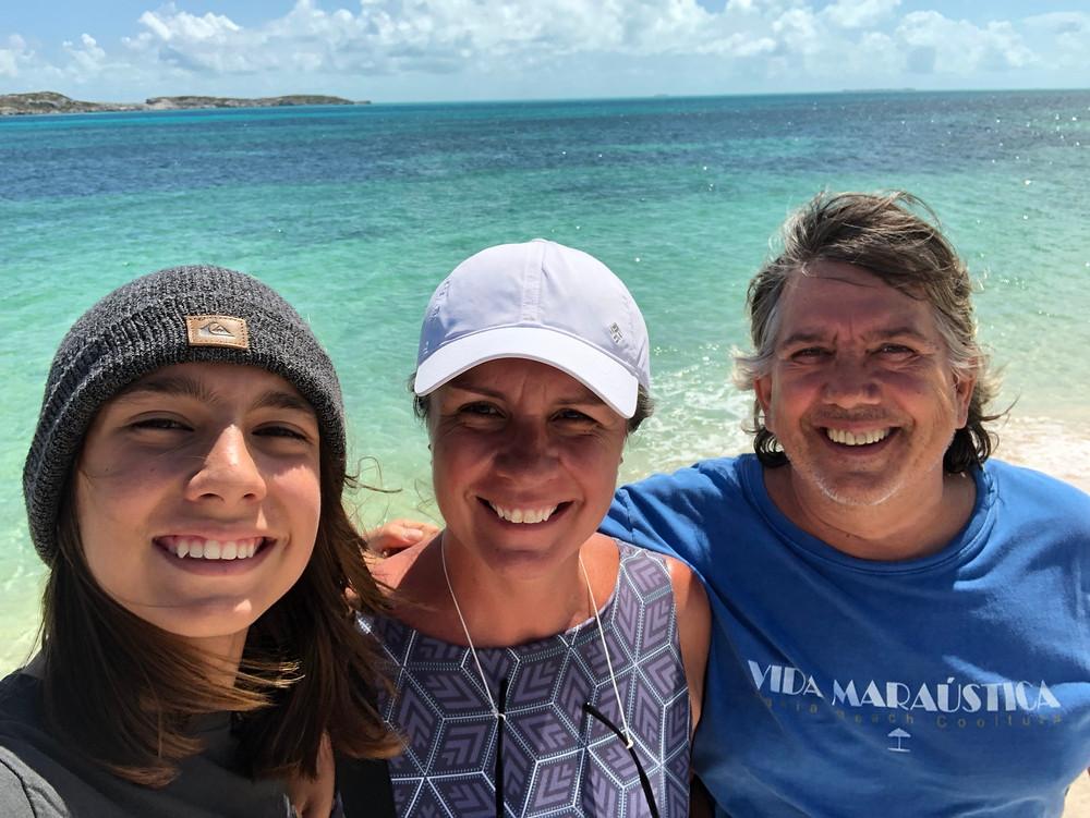 Familia Monte Alto em Turks and Caicos