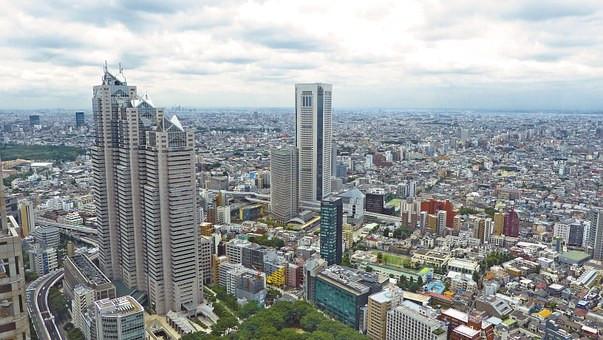 Tóquio vista do alto