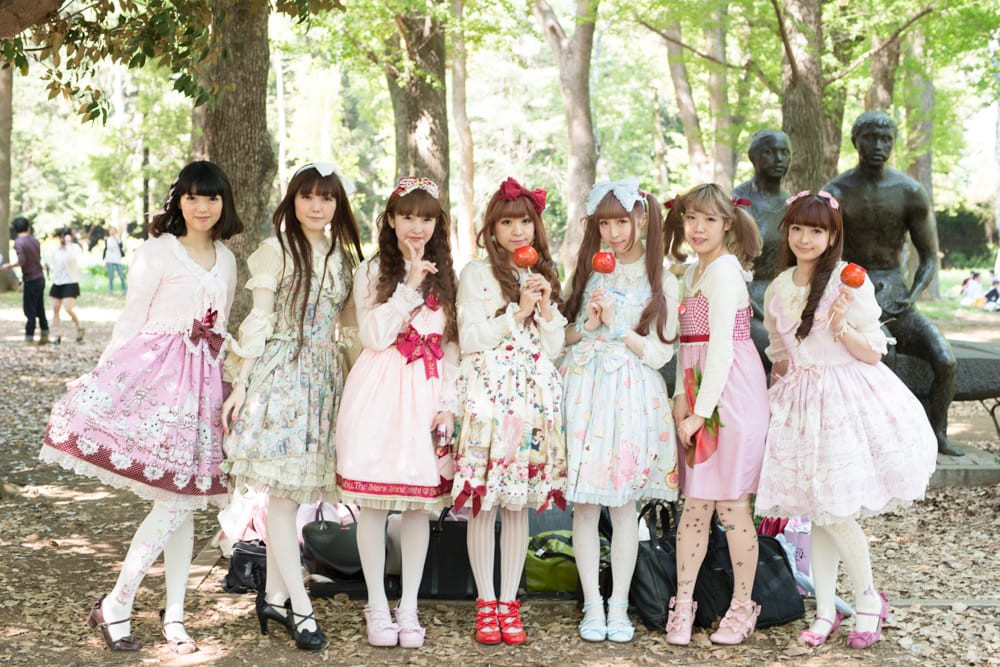 Meninas Lolitas japonesas