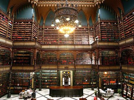 Uma das mais lindas bibliotecas do mundo é do Rio de Janeiro