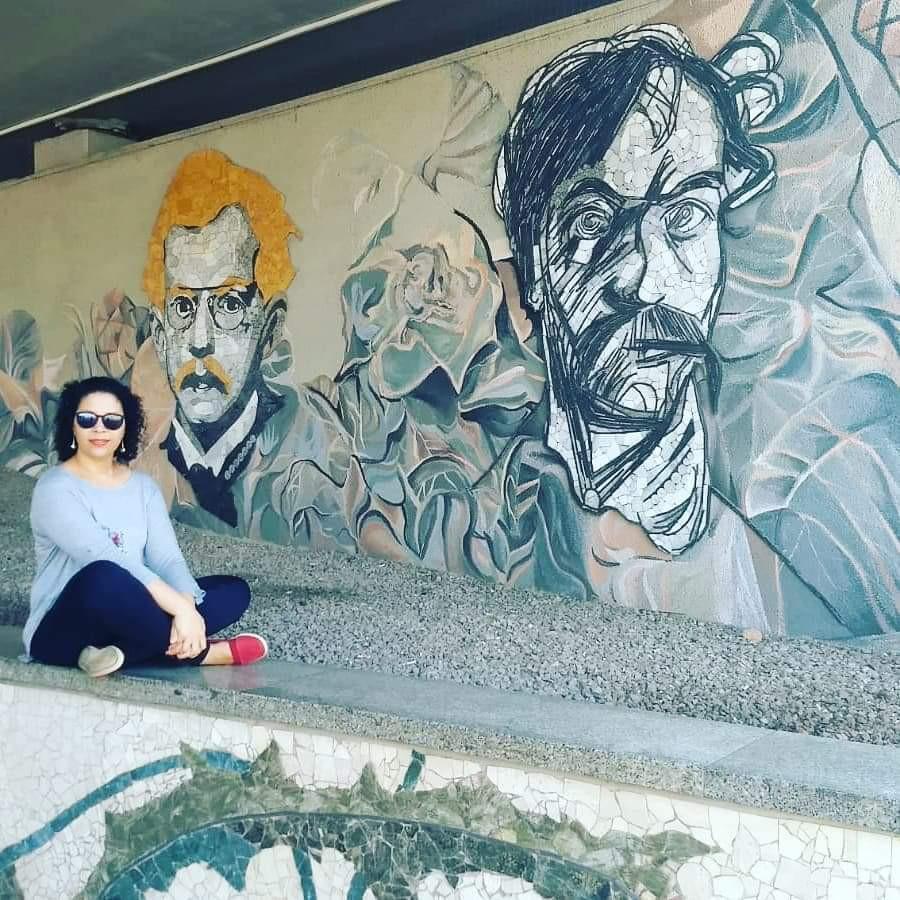 Valéria Rodrigues na Polônia