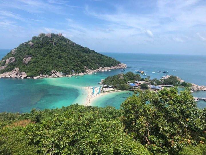 Koh Nangyuan na Tailândia