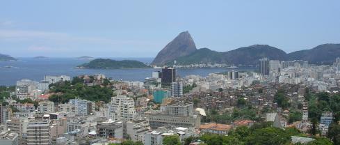Zona Sul vista do terraço