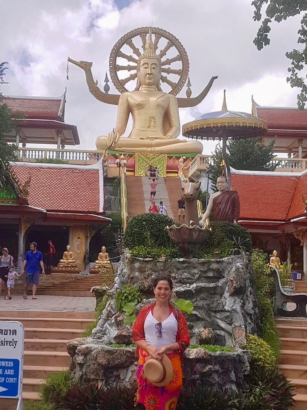 Muitos templos em Koh Samui