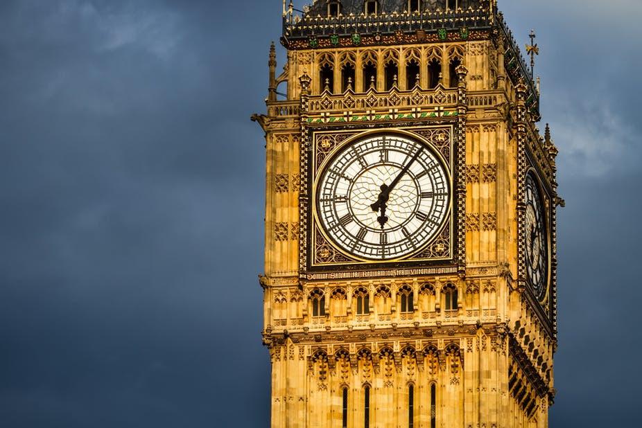 Big Ben e a pontualidade inglesesa