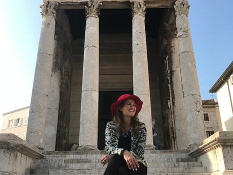 Templo de Augusto na Croácia