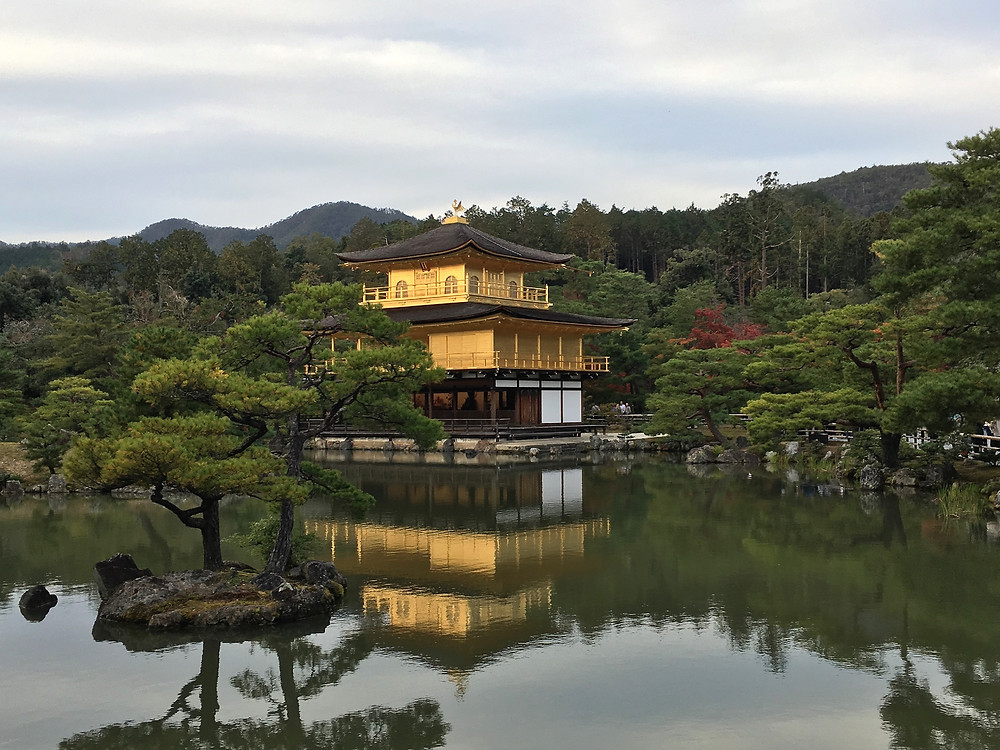 TEMPLO DE KINKAKU-JI, o Pavilhão Dourado