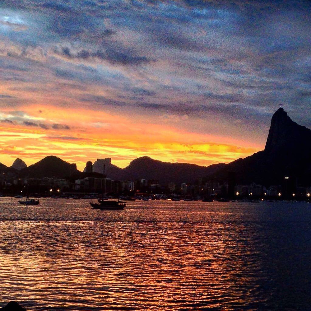 Pôr do Sol visto da Urca