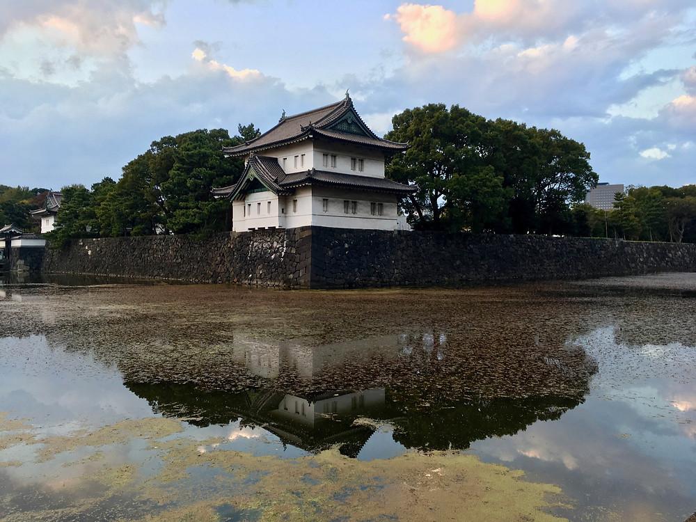 Entrada do Palácio Imperial em Tóquio