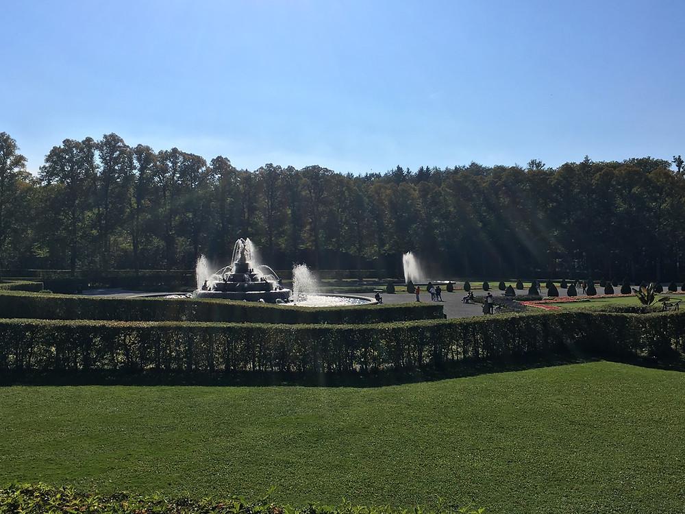 Vista do Jardim Herreninsel