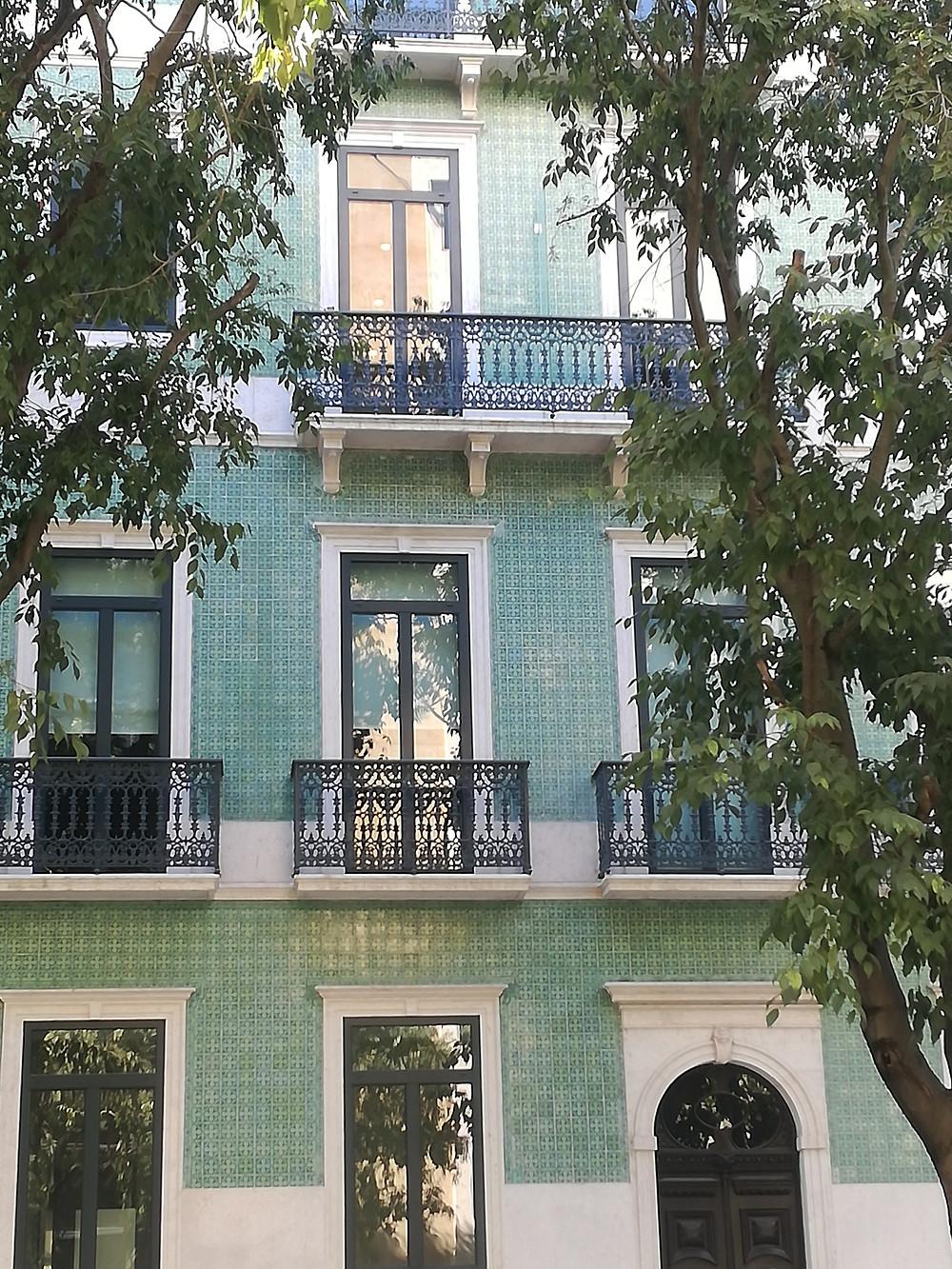 Fachadas de azulejos