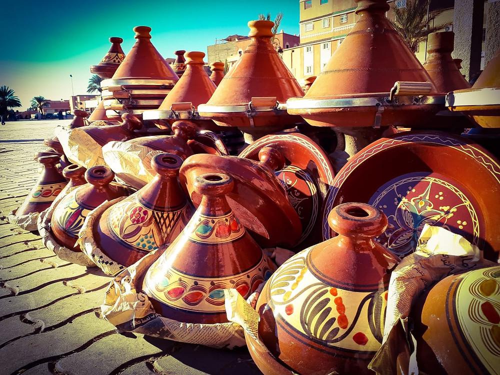 Artesanato no Marrocos