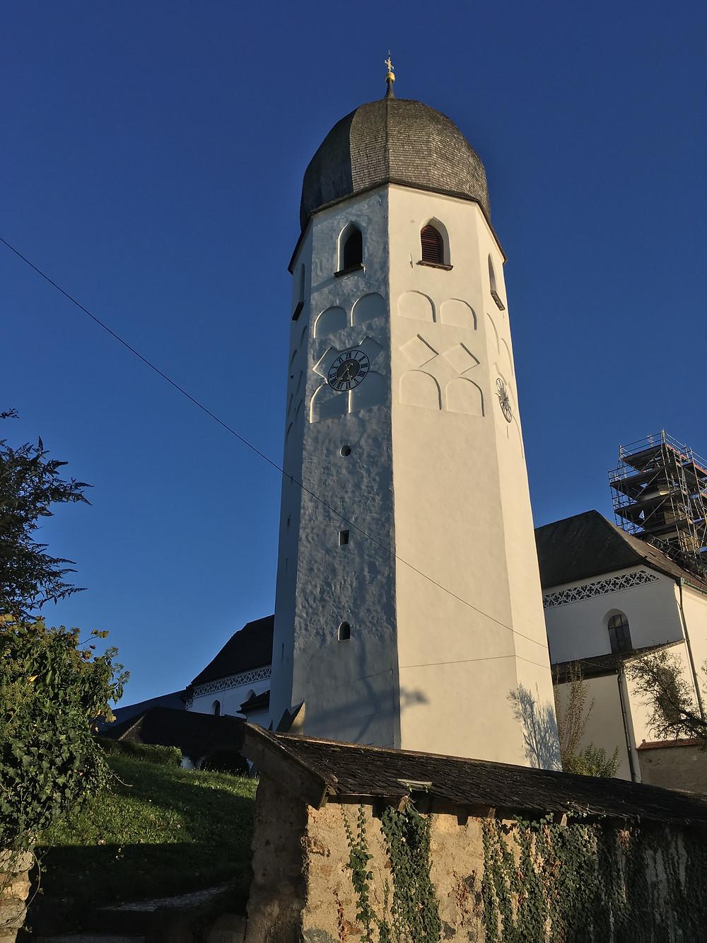 Torre da Igreja na Ilha das Mulheres